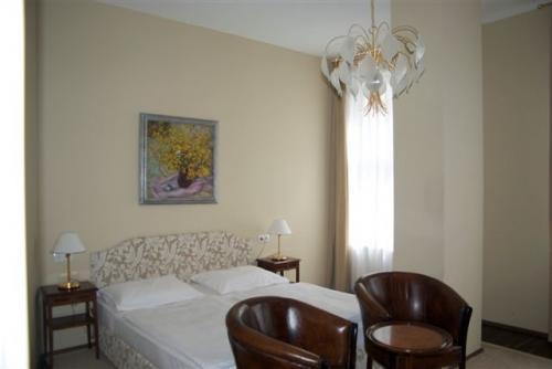Deluxe Doppelzimmer beige